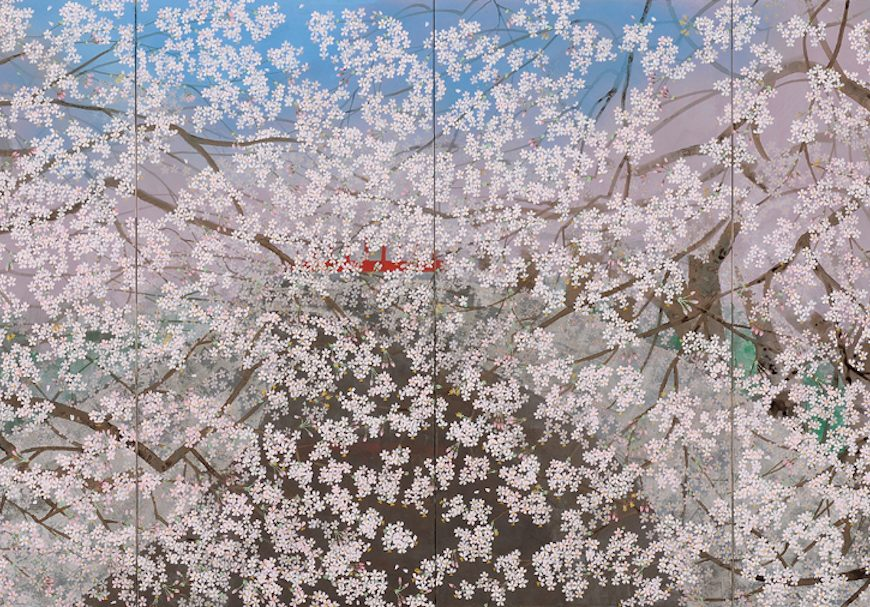 Chinami Nakajima, Nihonga, painting, art, Japanese artists, Sato Sakura Gallery New York, NYC, Chelsea, Japan, artist talk