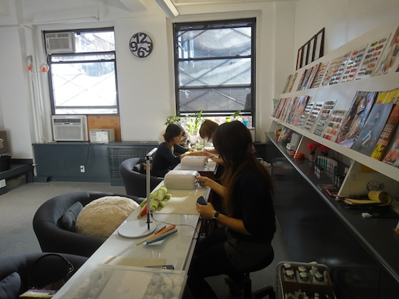 Japanese Nail Art At Studio L A Hidden Gem In The Garment District Japanculture Nyc