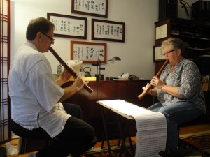 shakuhachi, James Nyoraku Schlefer