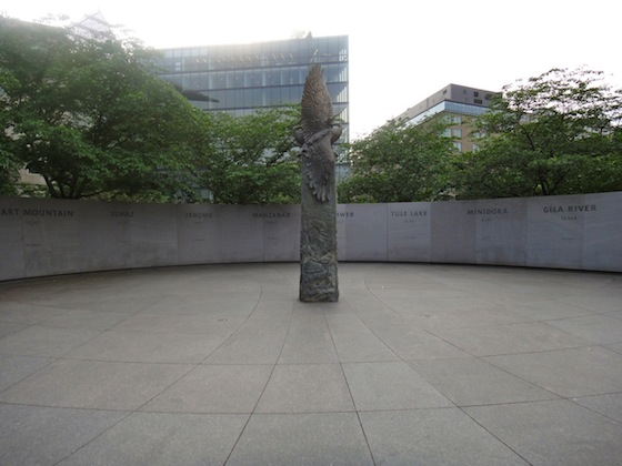 internment camps, Japanese Americans, National Japanese American Memorial