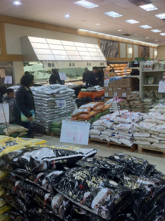 rice, Japanese grocery, Mitsuwa