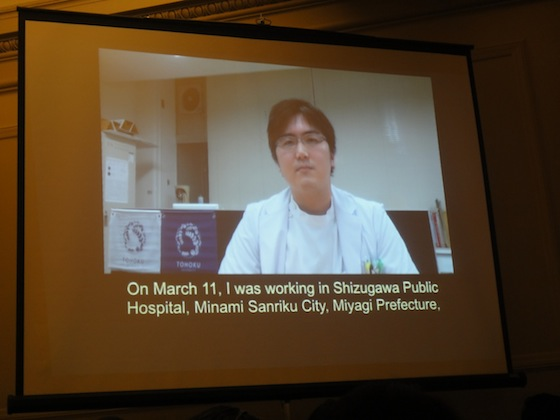 Dr. Takeshi Kanno, TIME, Japan earthquake and tsunami, NYC, 3/11