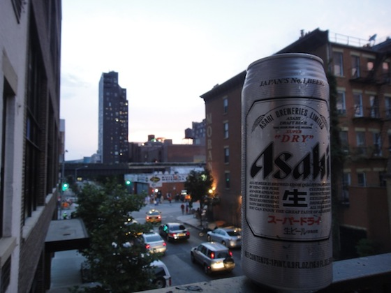 yakitori, hot dogs, Fourth of July, Independence Day, Japanese in NYC, Asahi Beer, fireworks