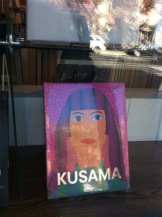 Yayoi Kusama, Whitney Museum, NYC, Japanese artists, 192 books