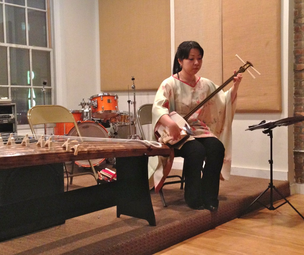 Yoko Reikano Kimura, koto, shamisen, NYC, Japanese traditional music, Japanese culture, music