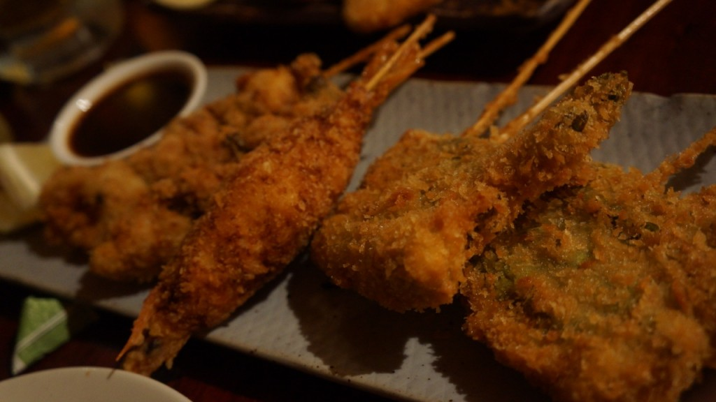 kushiage, NYC, Village Yokocho, izakaya, Japanese cuisine, Japanese soul food