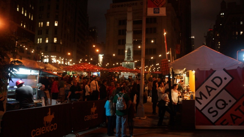 Mimi and Coco, teriyaki balls, takoyaki, NYC, Madison Square Eats, Mad Sq Eats, Madison Square Park, yatai