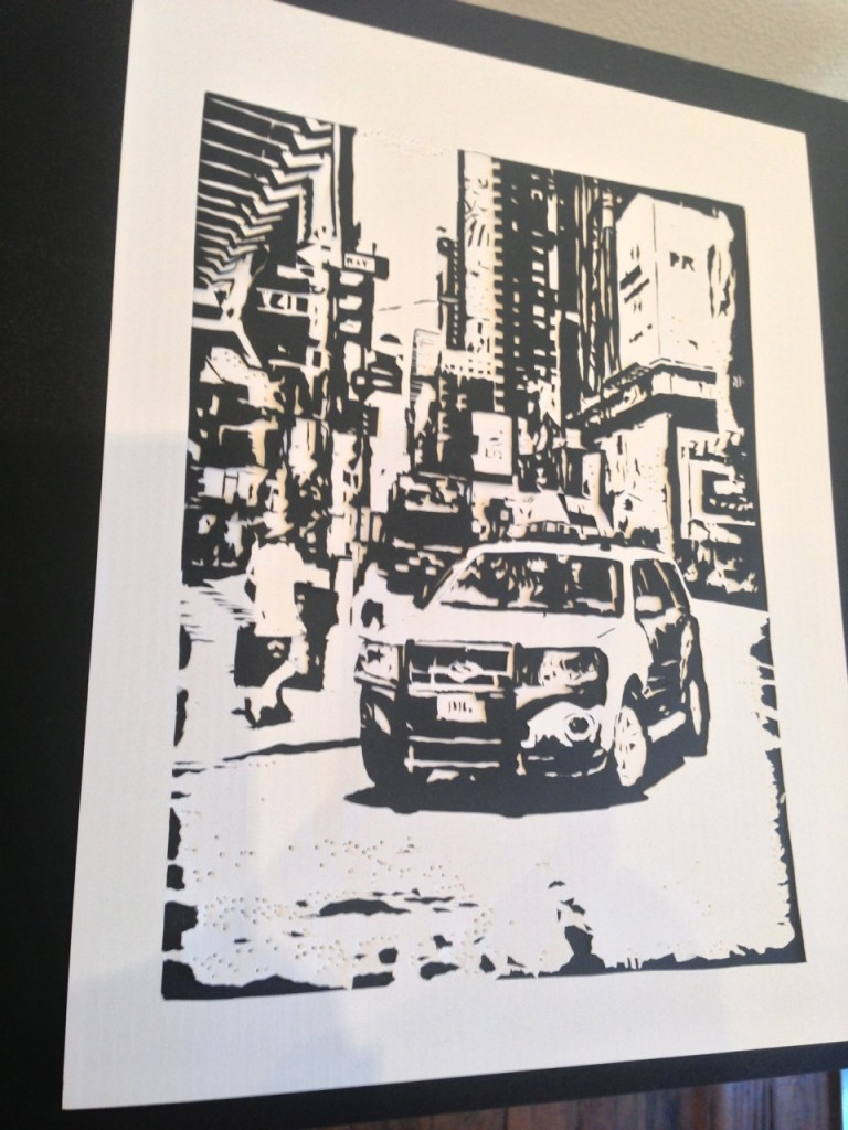 KROUD, kirie, Japanese paper cutting, Japanese traditional art, NYC, Jadite Galleries, Japanese artists in NYC