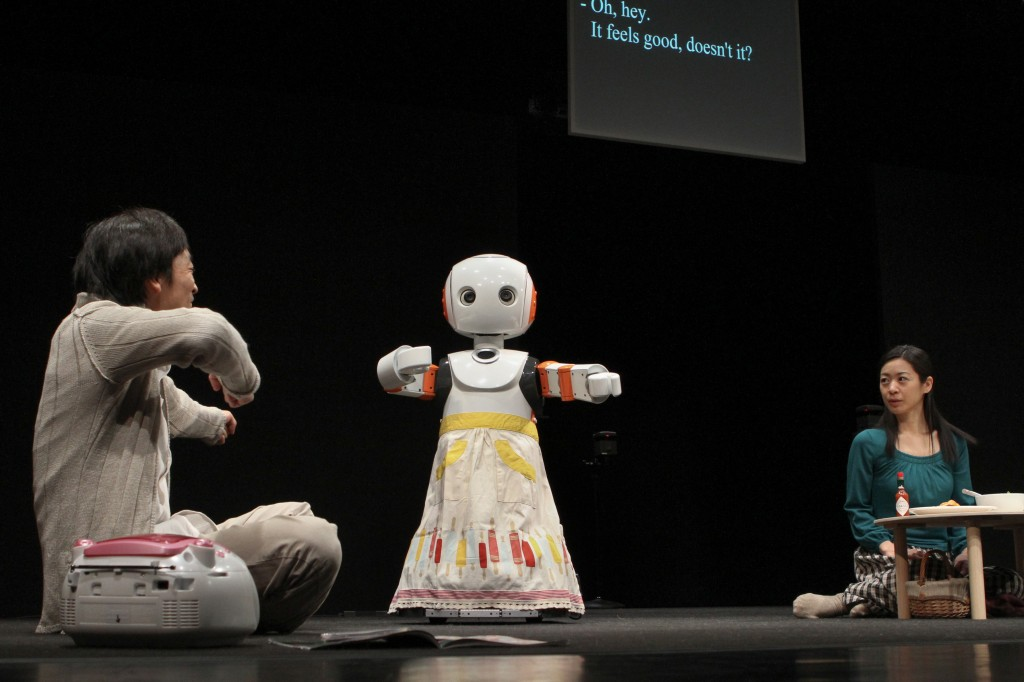 Robot Theater Project, Oriza Hirata, Seinendan Theater Company, Hiroshi Ishiguro, Japan Society, NYC, robots, androids, emotions