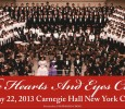 "[ May 22, 2013; 7:30 pm to 10:00 pm. ] The Hearts and Eyes Choir will sing ""Ode to Joy"" at free concert"