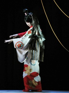 Sachiyo Ito, Dojoji, Dojoji: The Man Inside the Bell, NYC, Pan Asian Repertory Theatre, Pan Asian Rep, Japanese myth, kabuki, bunraku, noh, anime, martial arts, Tisa Chang, Ernest Abuba, theatre, Anchin and Kiyohime