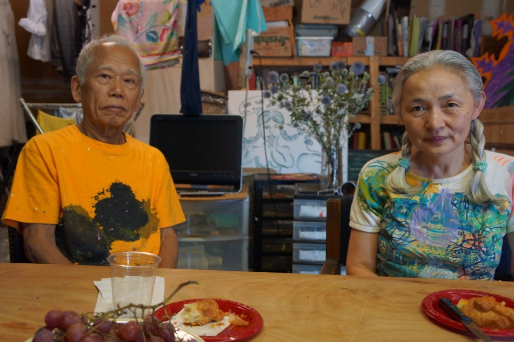 Cutie and the Boxer, Ushio Shinohara, Noriko Shinohara, Gyu-Chan, Cutie and Bullie, Zachary Heinzerling, NYC, Brooklyn, Japanese artists, Neo-Dadaism, Japanese artists in New York, film, documentary, painting, sculpture, animation