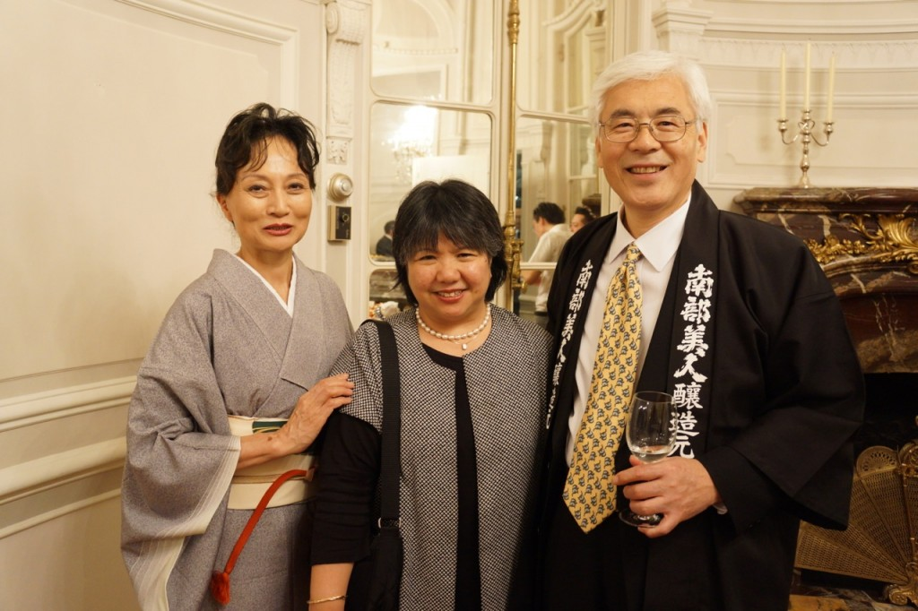 Ambassador Sumio Kusaka, NYC, Counsel-General of Japan to New York, Ninohe City, Ninohe, Iwate, Iwate Prefecture, 3/11, March 11, Japan, Urushi, lacquerware, sake, Nanbu Bijin