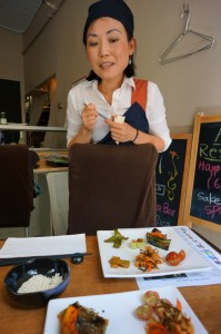 Hakkoan, Aki on West 4th, Chef Natsuko Yamawaki, Ozeki Sake, sake, koji, macrobiotic, tasting, Sake 101 Workshop, NYC