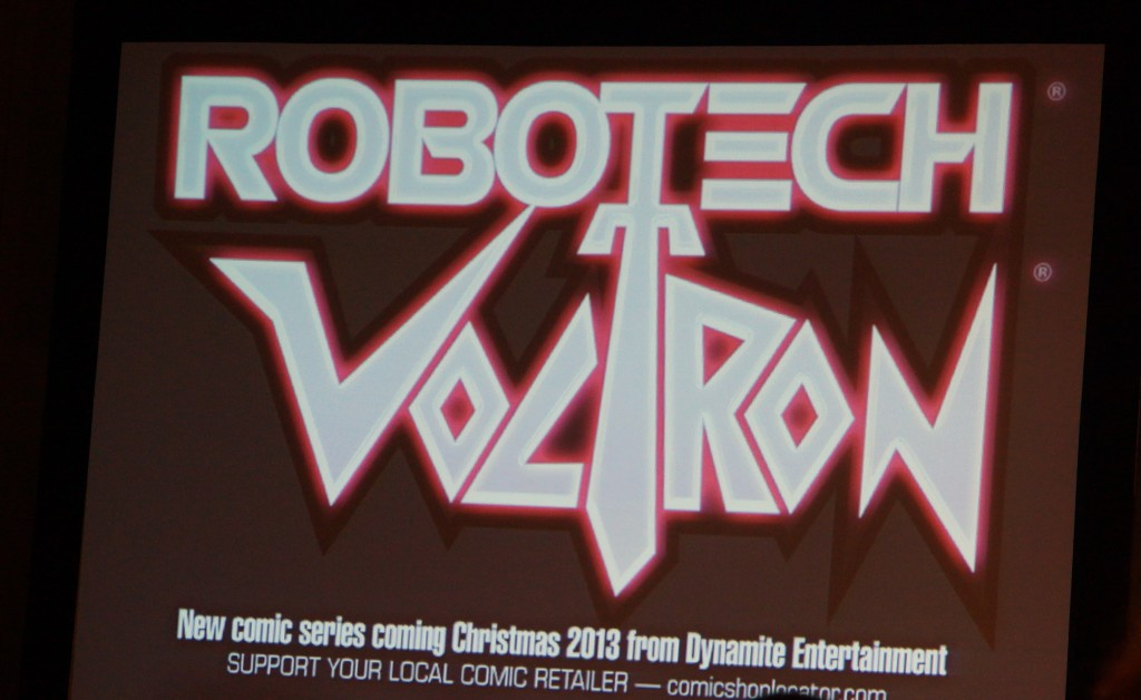Voltron, Robotech, crossover, comic, NYC, NYCC, New York Comic Con, anime, Toei, Japanese, animation, Dynamite Comics