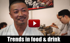 See the hottest trends in Japanese food & drink for 2014