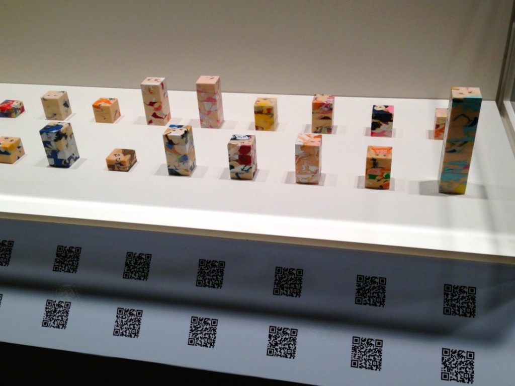three, artist collective, Fukushima, Japan Society, NYC, art, exhibition, manga, anime, pop culture, QR codes, QR Reader
