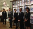 Japanese luxury shirt makers hold reception to celebrate