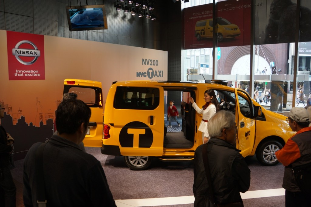 Nissan, Taxi of Tomorrow, NYC, Japan, Tokyo, Ginza, cab, taxi, lawsuits, CNN Money, gallery