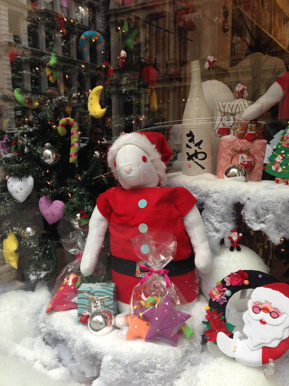 Kiteya Christmas storefront & 2013 Holiday Guide to Japanese Shopping in New York | JapanCulture\u2022NYC
