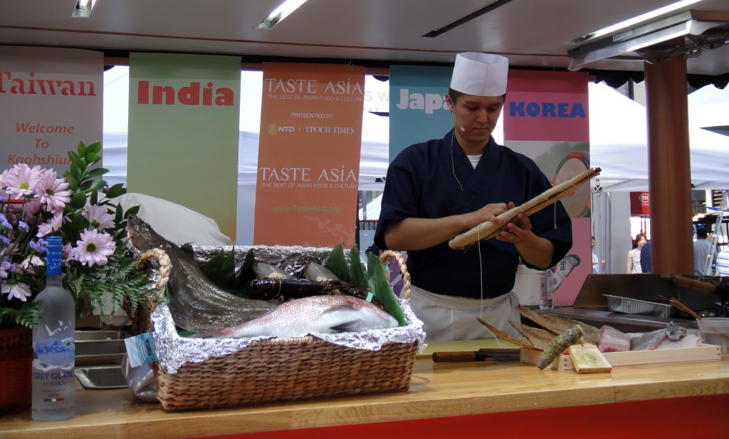 A taste of japan at taste asia japanculture nyc for Akira japanese cuisine nyc