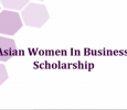 Asian female undergraduates can receive $2,500 scholarship