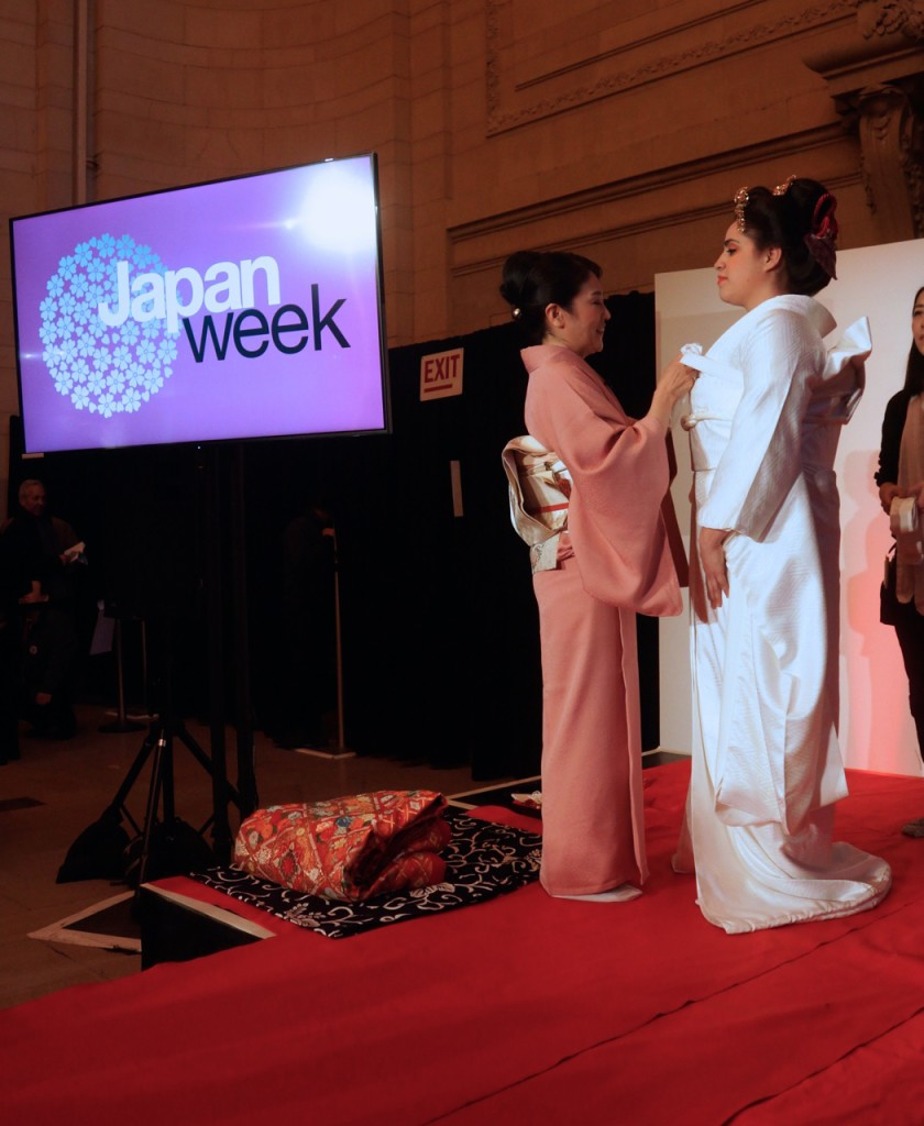 Japan Week 2015, Japan Week, Japan, NYC, Grand Central, depachika, cuisine, fashion, Japanese culture, Japanese cuisine, kimono, Doraemon, Domo, NHK World, Seiko, Kamakura Shirts, takoyaki, sake, craft beer, Beard Papa's, Minamoto Kitchoan, Ito En, House Foods, Marukome, Mitsuwa