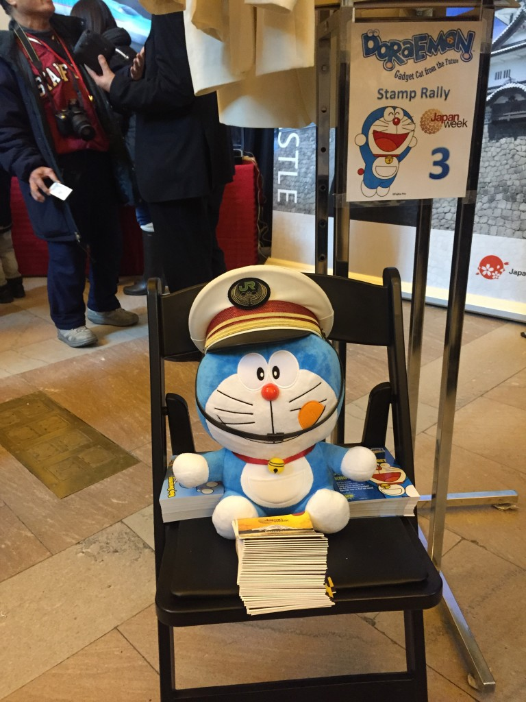Japan Week 2015, Japan Week, Grand Central Terminal, Grand Central, NYC, Japan, travel, tourism, Seiko, Kamakura Shirts, Watabe Wedding, kimono, depachika, Domo, Doraemon, fashion, kawaii, Cool Japan