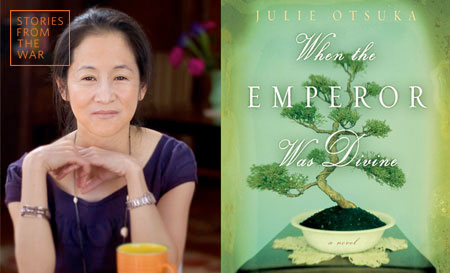Julie Otsuka, Japan Society, NYC, When the Emperor Was Divine, WWII, Japanese Americans, internment, internment camps