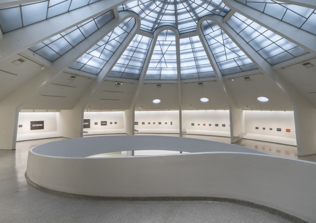 On Kawara, Japan, Japanese artists, Guggenheim, museum, exhibition, art, NYC, avant-garde