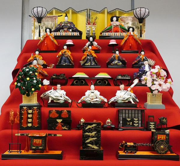 Hina Matsuri, Doll Festival, Girls' Festival, Girls' Day, Japan, NYC, Japan Society, Consulate General of Japan in New York, Japanese traditions, dolls, ningyo