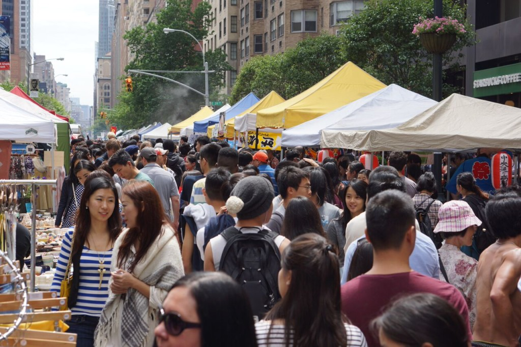Japan Block Fair, JBF, Japan, NYC, Grand Central Terminal, Japanese street food, Japanese comfort food, yakisoba, onigiri, ramen, okonomiyaki, tenugui, pottery, togei, zori, crafts, origami, yo-yo fishing, travel