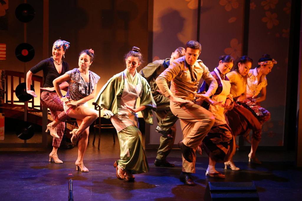 Sayonara: The Musical, Sayonara, Pan Asian Repertory Theatre, Pan Asian Rep, musicals, NYC, Japan, interracial marriage, prejudice, racism, U.S. military, James A. Michener, WWII, World War II, post-war occupation