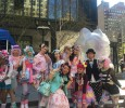 Celebrities from popular NHK World programs onsite at pop culture festival