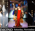 [ November 7, 2015; 5:00 pm to 8:00 pm. ] Showcasing the aesthetics of Japanese traditions through antique kimonos that date back more than 150 years