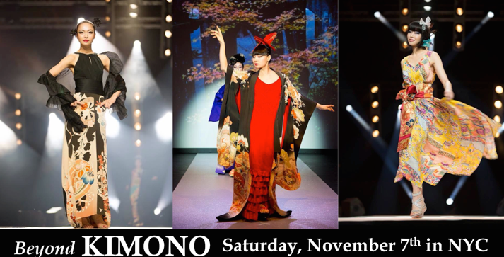 Beyond Kimono, kimono, fashion, fashion show, NYC, Japan, Be JAPON, Gohei Nishikawa, Japanese traditions, Japanese craftsmanship