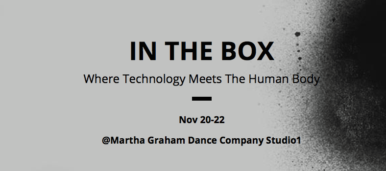 IN THE BOX, Miki Orihara, Senri Oe, nissy, Nana Tsuda, experimental theater, theater, Martha Graham, Japan, NYC