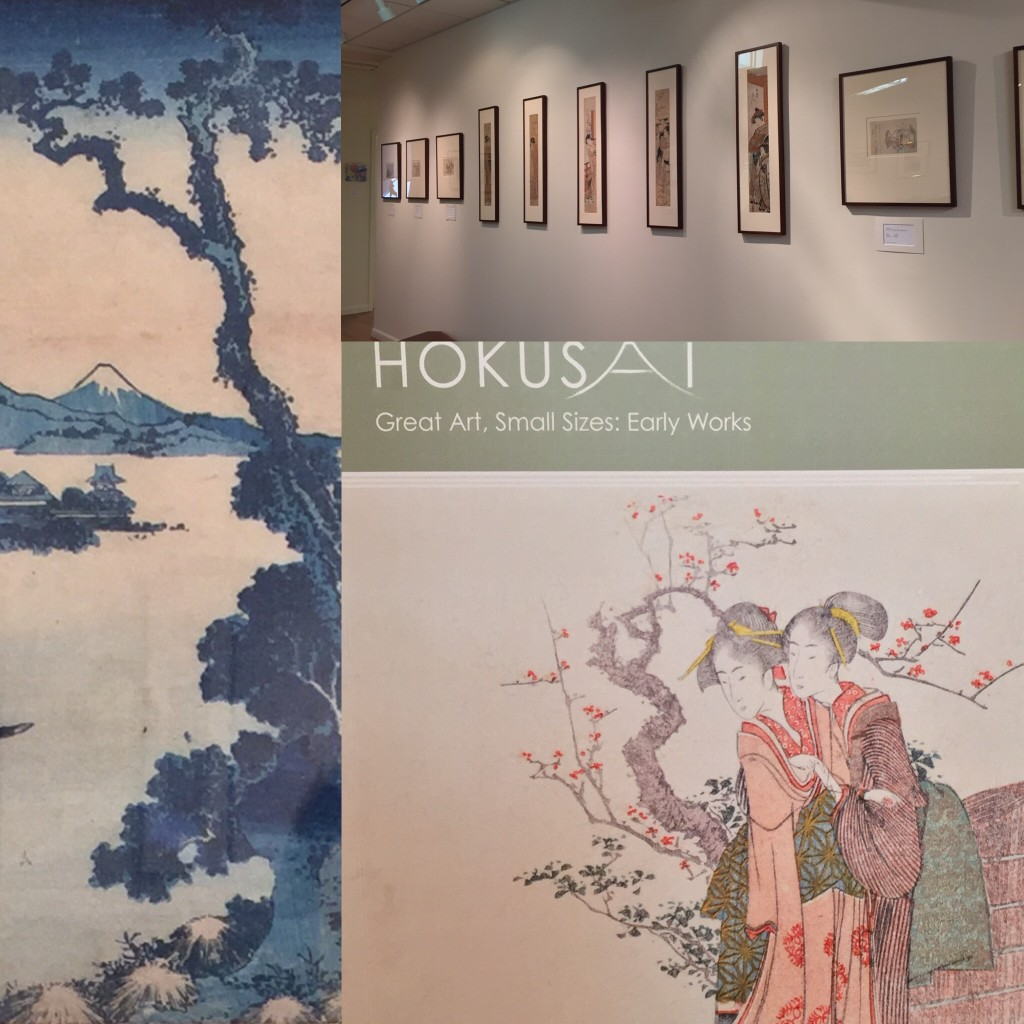 HOKUSAI small works at Ronin
