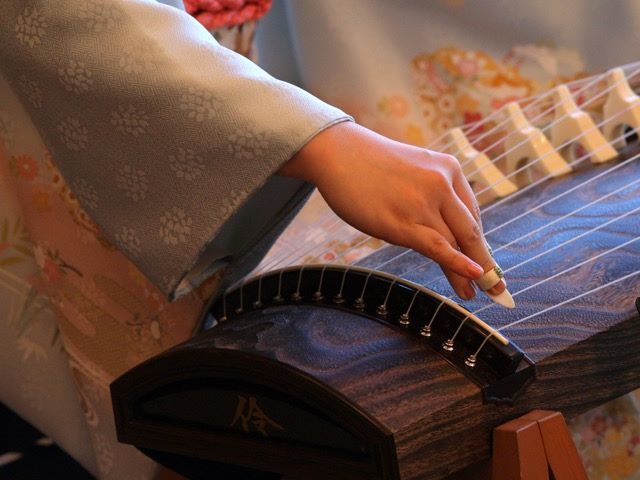 Yoko Reikano Kimura, CRS, Marc Creation, NYC, Japan, Japanese traditional music, koto, shamisen, wagashi, seasons, mochiRin, concert