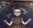 Japanese artist paints themes of Tibetan Buddhism