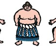 [ May 17, 2016; 8:00 pm to 11:00 pm. ] Televised sumo match and chankonabe