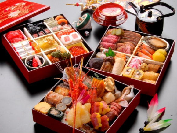 osechi, osechi ryori, New Year's Day, Oshogatsu, NYC, Japan, jubako, Sunrise Mart, Katagiri, Dainobu, Mitsuwa, Hakubai, The Nippon Club, Restaurant Nippon, Sakagura, Japanese traditions