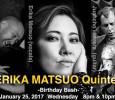 [ January 25, 2017; 8:00 pm to 11:00 pm. ] Japanese jazz singer's birthday bash