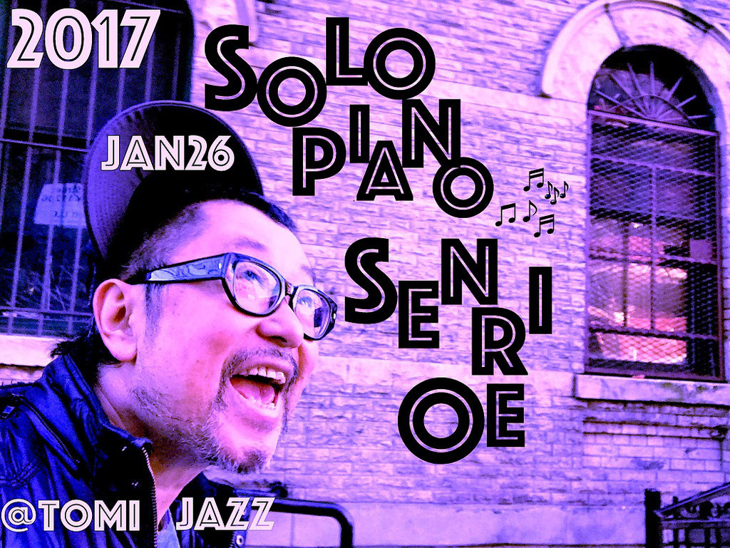 Senri Oe, jazz, Tomi Jazz, Japan, NYC, music, piano
