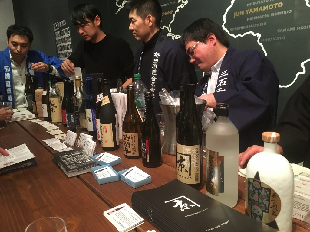 shochu, shochu tasting, The Brooklyn Kitchen, Stephen Lyman, Kampai.US, NYC, Japan, spirits, alcohol, Miyazaki