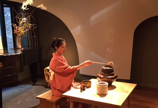 Omotesenke tea ceremony, tea ceremony, matcha, chanoyu, Yasuko Chanoyu Tea Group, NYC, Japan, American Buddhist Study Center