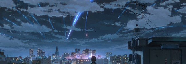 "Opening Spotlight is Japan's #1 box office hit, ""Your Name"""