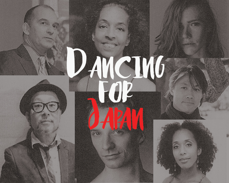 Dancing for Japan, Miki Orihara, dance, benefit, fundraiser, 3.11, Great East Japan Earthquake, earthquake, tsunami, nuclear meltdown, Senri Oe, Erin Dillon, Roxane D'Orleans Juste, Ask la Cour Rasmussen, the Francesca Harper Project, TAKE Dance, RIOULT Dance NY