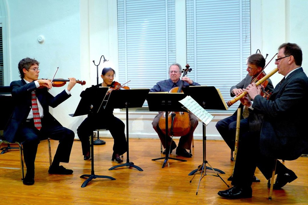 James Nyoraku Schlefer, shakuhachi, strings, Ciompi Quartet, music, Beethoven, Tenri, NYC, Japan