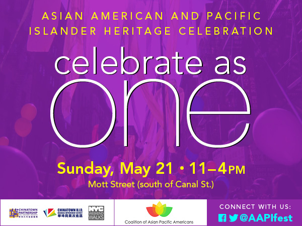 CAPA, Asian American Pacific Islander Heritage, AAPI, Coalition of Asian Pacific Americans, NYC, Japan, Asia, Chinatown, festival, Japanese American Association, JACL